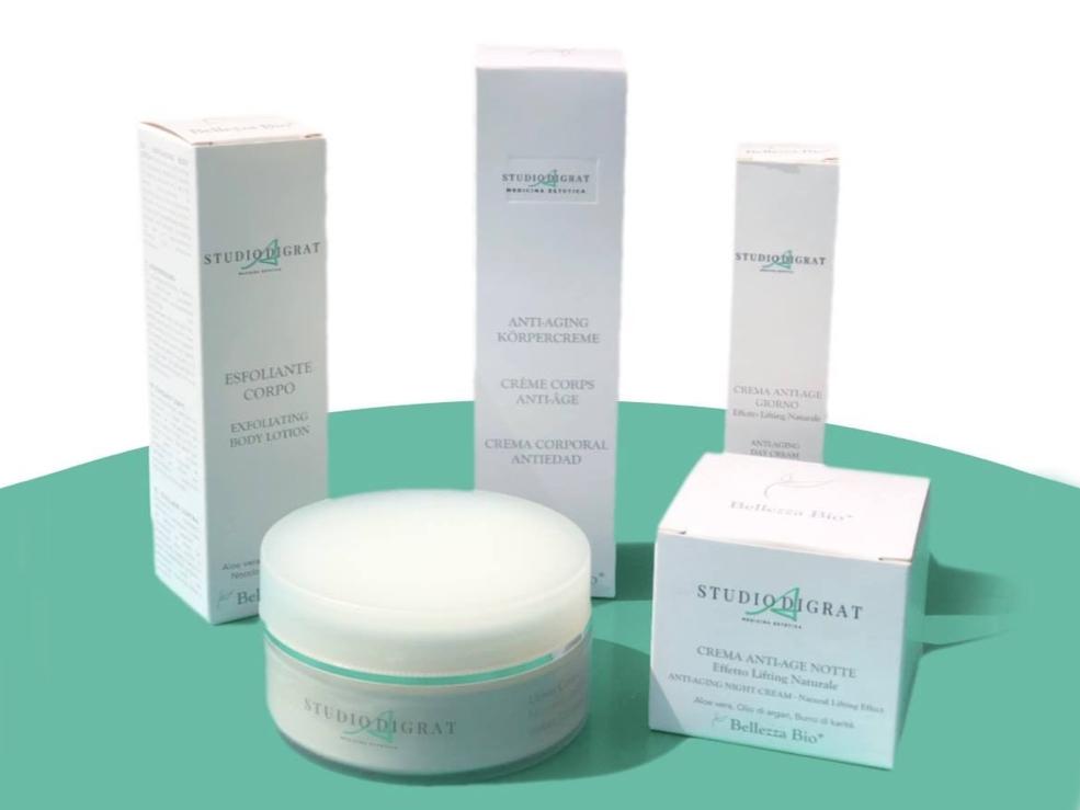 Prodotti dello Studio medico Adigrat di Milano per la skincare in casa